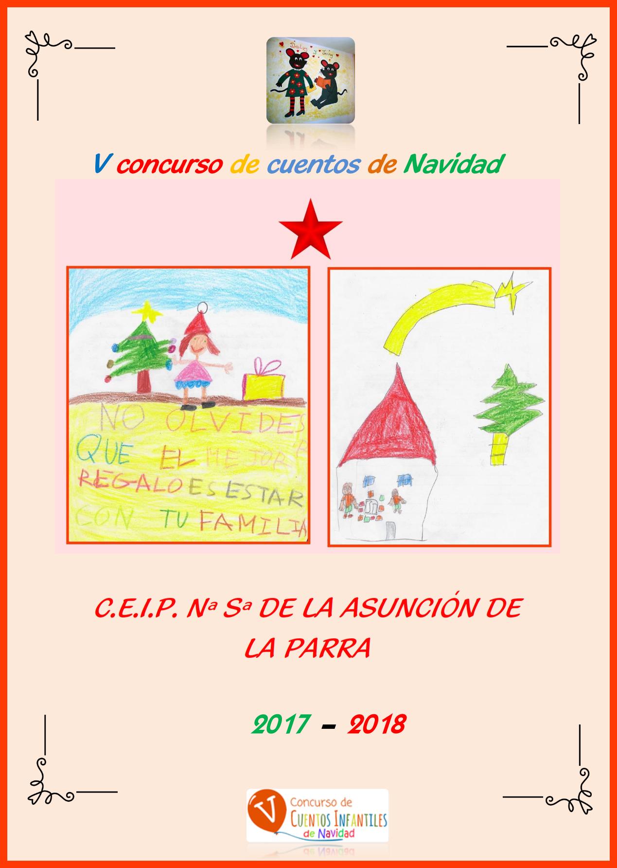 V concurso de cuentos de Navidad 2017 del colegio de La Parra 001