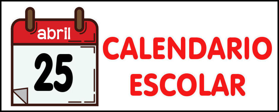 icono calendario escolar anual